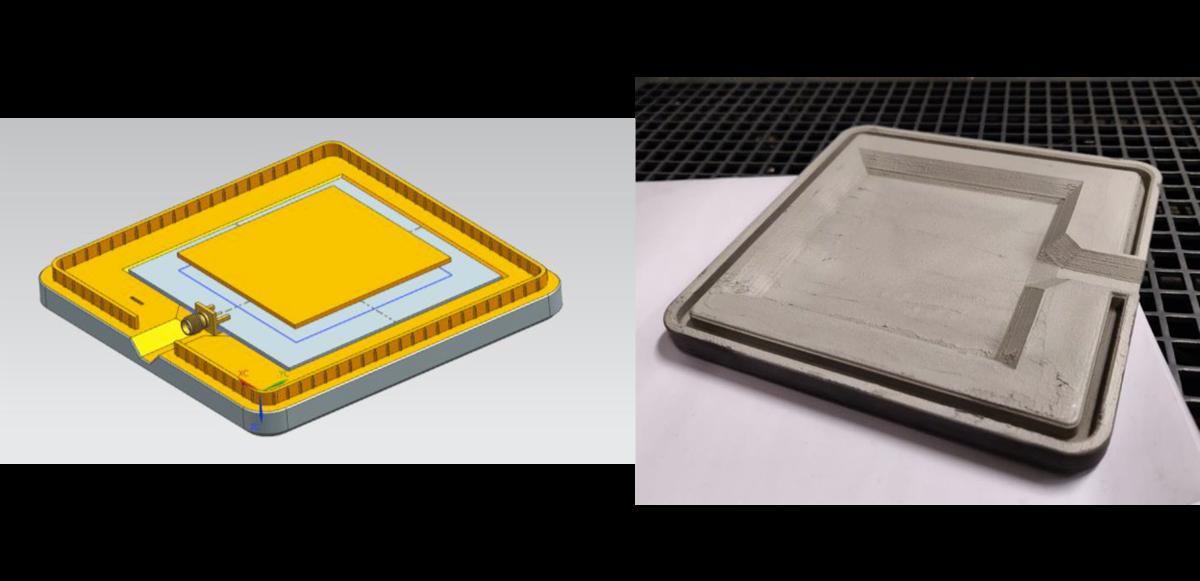 image A 3D printed RFI enclosure