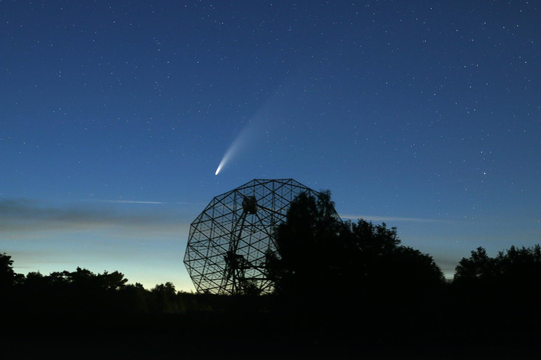 image A bright comet